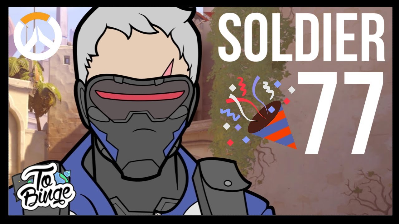 Soldier 77 An Overwatch Cartoon Youtube