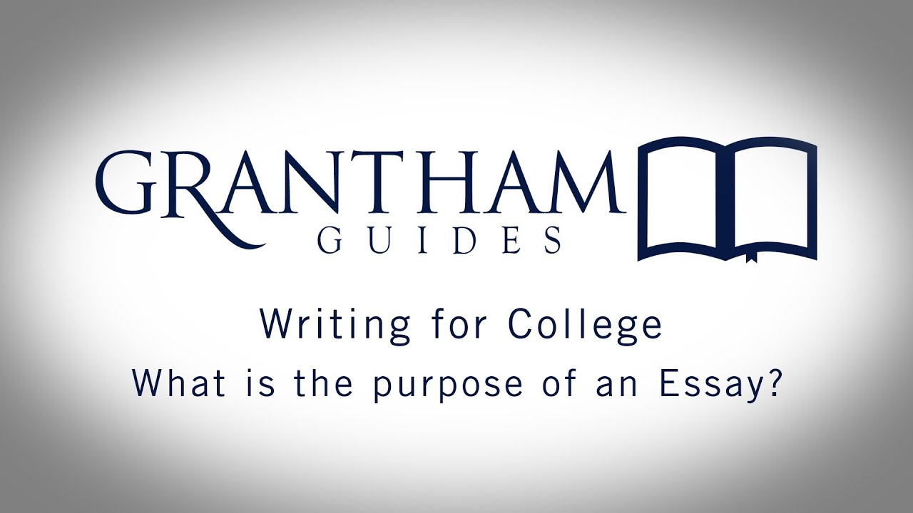 what is the purpose of an essay writing for college  what is the purpose of an essay writing for college 1 2