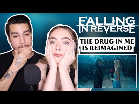 BRITISH WIFE reacts to FALLING IN REVERSE - The Drug In Me Is Reimagined