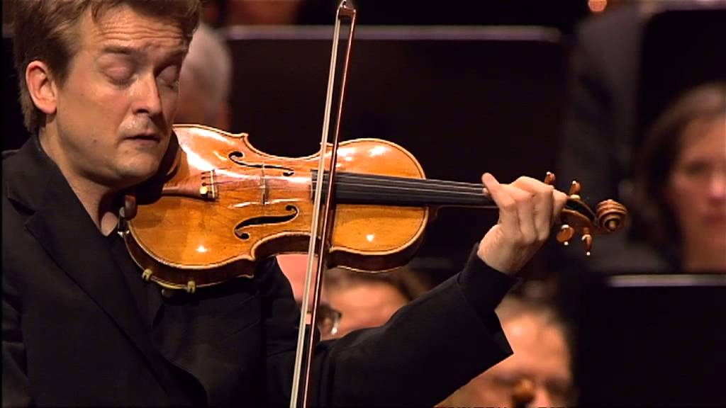 video: Christian Tetzlaff playing Brahms