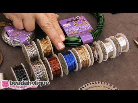 Beadaholique Live Class: Basics of Wire Wrapping