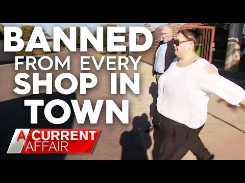Shoplifter Banned From Going Into Every Store In Town | A Current Affair