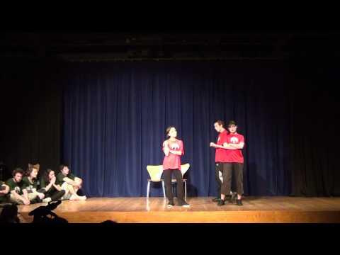 Finale Théâtre d'Improvisation Toulouse TDA 2012
