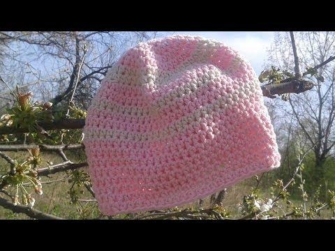 Einfache Mütze Von Oben Häkeln (mit Myboshi No 2)