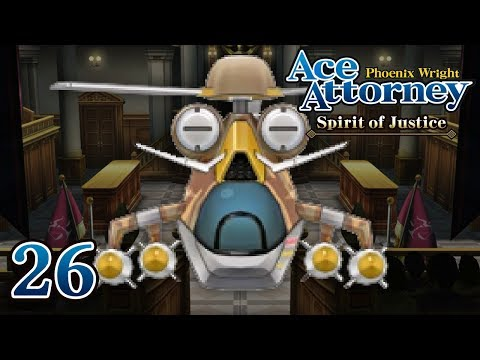 THE FIRST STEP - Let's Play - Phoenix Wright: Ace Attorney: Spirit of Justice - 26 - Playthrough