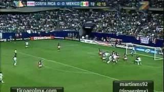 Costa Rica vs México Copa Oro 2009 Semifinales 1 1 (3-5 Penales)