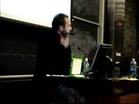 Jimmy Wales Gives Talk on Free Culture, Transparency, and Se