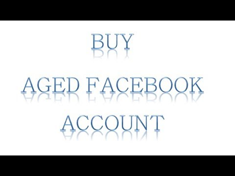 Buy Old Facebook accounts | Aged Facebook Accounts For Sale | PVA
