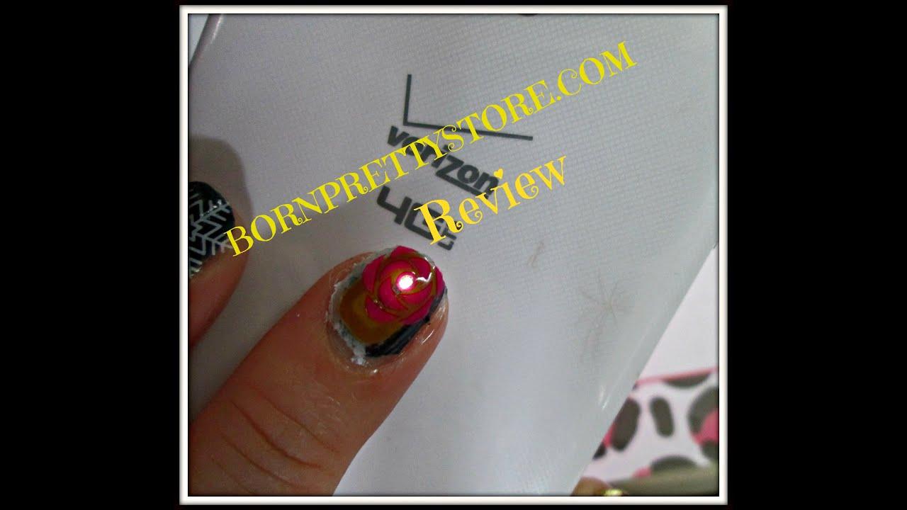 BORNPRETTYSTORE.COM Review | NFC Nail Sticker - YouTube