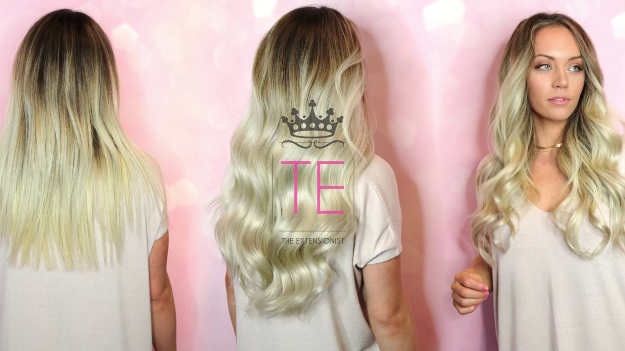 The Extensionist Introduces Extension Addict Clip Ins Youtube