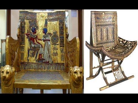 Chair Tomb Of Tutankhamun Ancient Egypt T