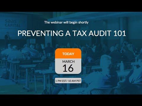 Webinar - Preventing a Tax Audit 101 Recording
