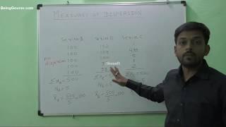 Dispersion in Statistics:- Gourav Manjrekar