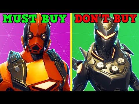 EVERY LEGENDARY SKIN (Buy Or Don't Buy!)   Fortnite Battle Royale!