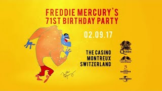 Freddie Mercury Birthday Party 2017 - Why We Celebrate