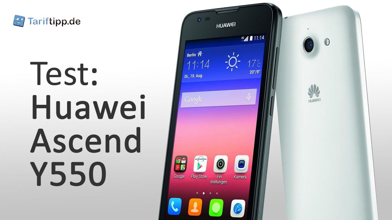 Huawei Ascend Y550 | Test deutsch
