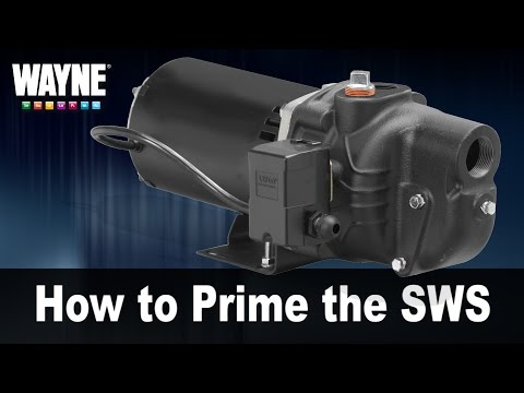 How to Prime the SWS Well Pump
