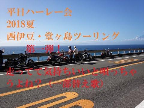 2018夏 西伊豆・堂ヶ島ツーリング1/2 走ってて気持ちいいと唄っちゃうよね? (一部替え歌)吉川晃司・COMPLEX・TOKIO/HARLEY DAVIDSON