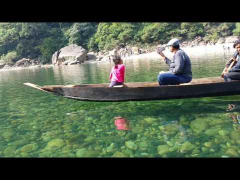 Meghalaya Dawki crystal River Tourism