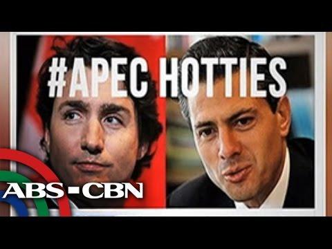 Bandila: Peña Nieto or Trudeau? Social media abuzz with 'APEC Hotties'
