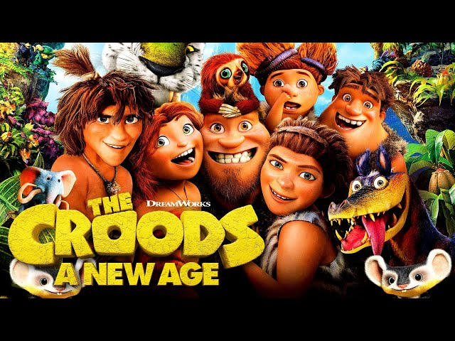 The Croods - Die Croods - Les Croods - Os Croods - Los Croods - Krudowie - ENGLISH (Videogame) Travel Video