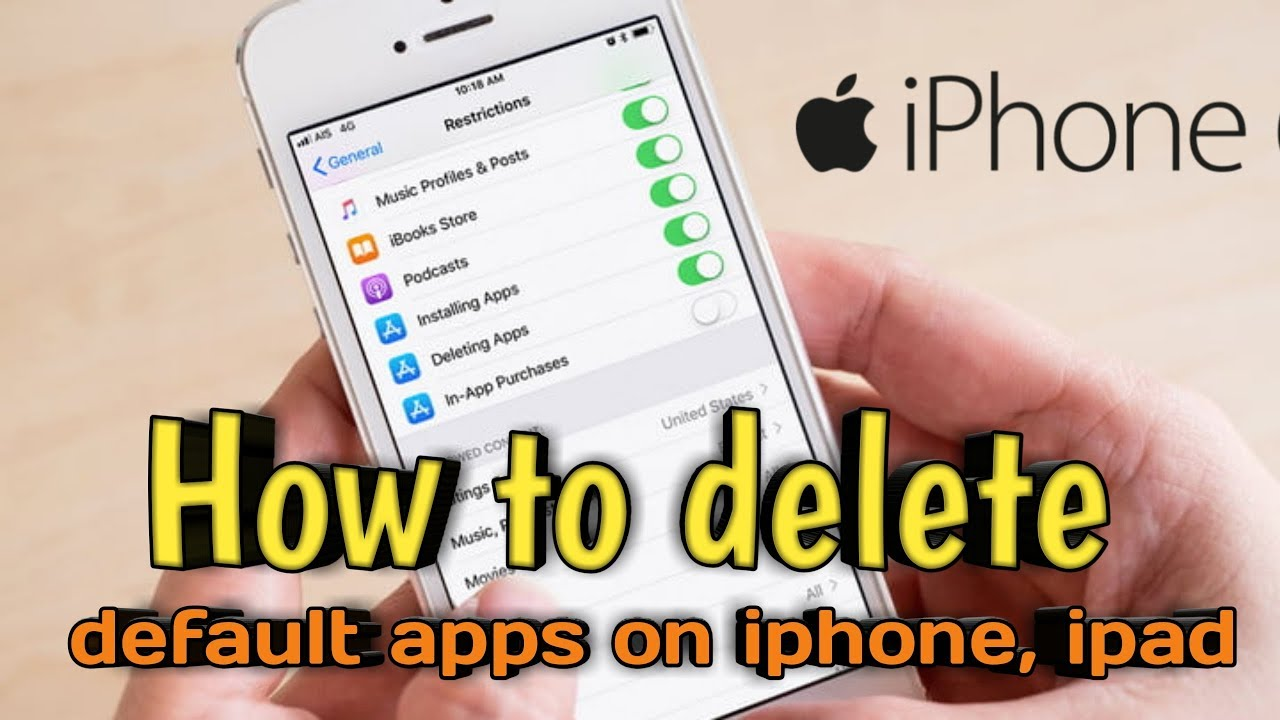 foto de How System Apps Uninstall on Iphone || vj kc official - YouTube