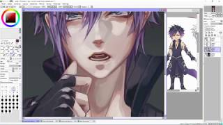 Commission Ezekiel by TheCecile - Anime Painting TimeLapse