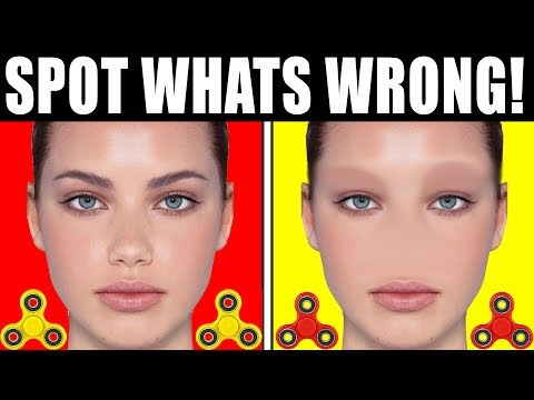 Thumbnail: 92% CAN'T SPOT THE DIFFERENCE! ITS IMPOSSIBLE (FIDGET SPINNER TOY TRICKS)