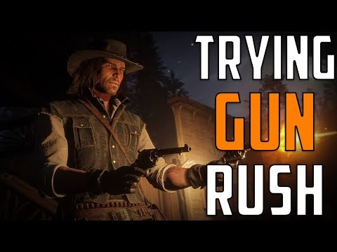 Trying Gun Rush(Battle Royale) | Red Dead Redemption 2 Online thumbnail