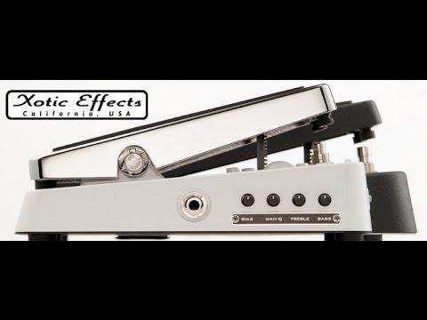 Xotic Effects Wah XW-1 - Demo by Simon Gotthelf