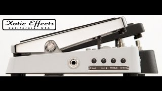 Xotic Effects Wah XW-1 - Demo by Simon Gotthelf