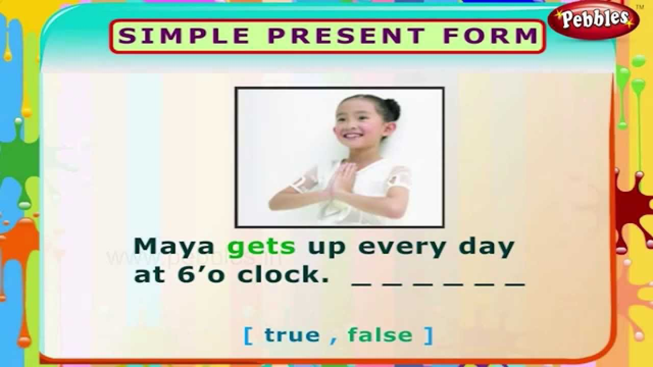 present simple exercises for beginners pdf