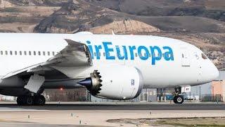 Boeing 787-8 Air Europa - Vuelo Completo -  Santo Domingo - Madrid