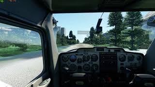г. Ульяновск в Microsoft Flight Simulator 2020 Посадка на ул. Хрустальная