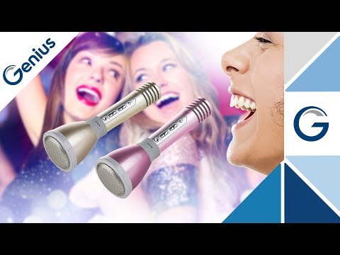 GENIUS | HI LIVE Karaoke Mikrofon