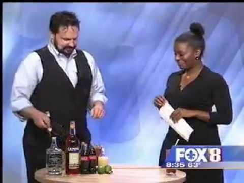 Windsor Court Mixologist Ryan Asay creates a Cinco de Mayo cocktail: Zaragoza's Arms