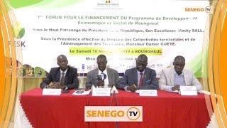 Assane Diop lance le programme de développement économique et social de Koungheul