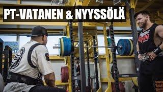 Vatanen & Nyyssölä | Superheavy-jalkatreeni | TAFFER