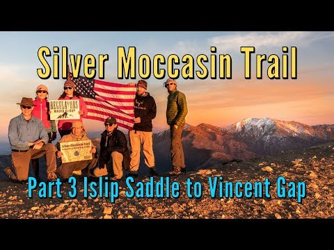 The Silver Moccasin Trail - Part 3 -  Islip Saddle to Vincent Gap - Mt Baden Powell Summit