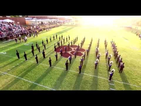 UCO Marching Band performs at Cashion High School