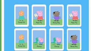 Peppa Pig English 💖 Soft Play💖 Peppa's Matching Pair Game💖 Свинка Пеппа💖 2019