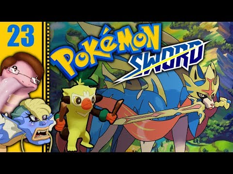 Let's Play Pokémon Sword Part 23 - Sleepy Snake Station