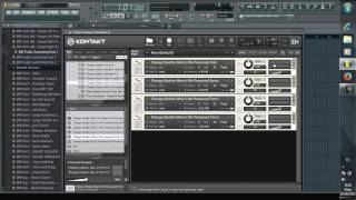 Vierce Audio Productions : How to load file  .nki  / .nkm into Kontakt 5 in FLSTUDIO