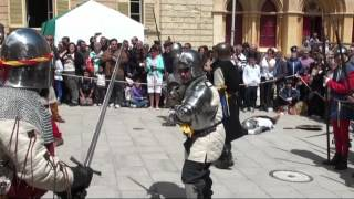 Medieval Mdina 2012-battle Between Aragonese, Genoese And The Maltese Army Against Pellegrini's Army