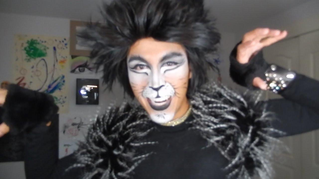 4499221c2 Maquillaje facil de Gato - YouTube