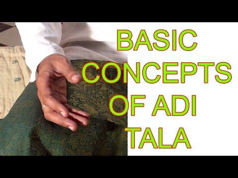 Adi Tala and Speeds  - Carnatic Music Lessons