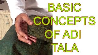 Adi Tala and Speeds  - Carnatic Music Lessons