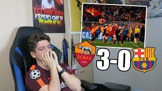 REACCIONANDO al ROMA 3-0 FC BARCELONA Champions League
