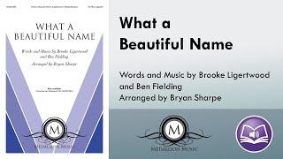 What A Beautiful Name Satb Brooke Ligertwood, Ben Fielding, arr. Bryan Sharpe.mp3