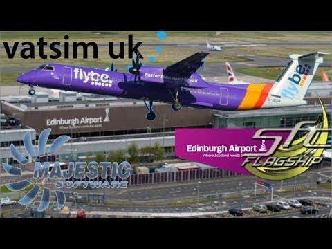 Majestic Software Q400 - Birmingham To Edinburgh